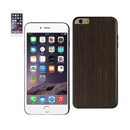 Iphone 6 Plus   6S Plus Hard Wood Real Bamboo Natural Wooden Back Handmade Case