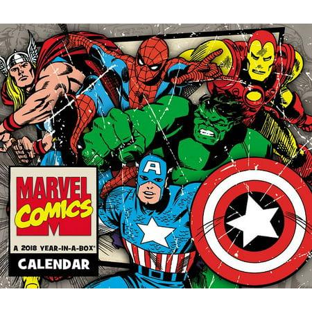 Marvel History - Mead History of Marvel Comics Year-In-A-Box Calendar - Calendars