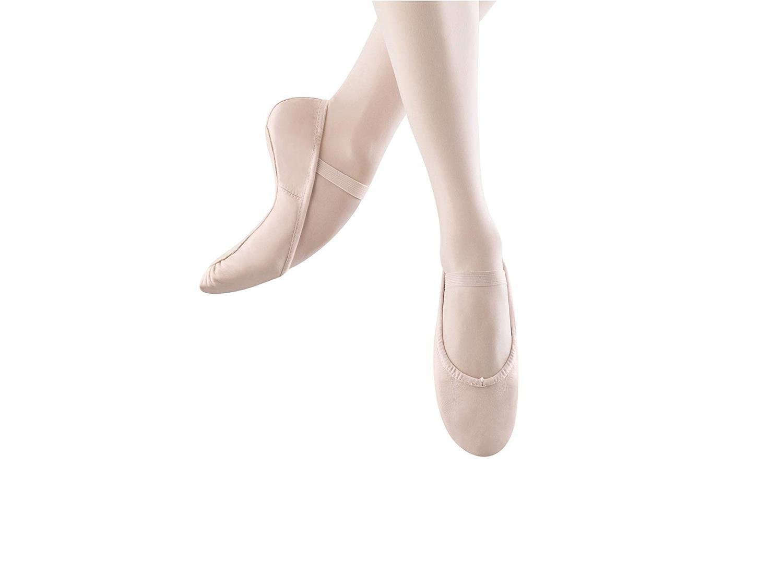 Bloch Womens Dansoft Leather Low Top