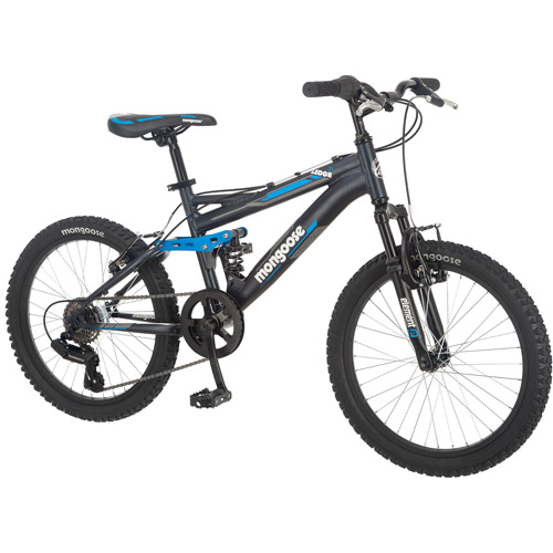 "20"" Mongoose Ledge 2.1 Boys' Mountain Bike, Black"