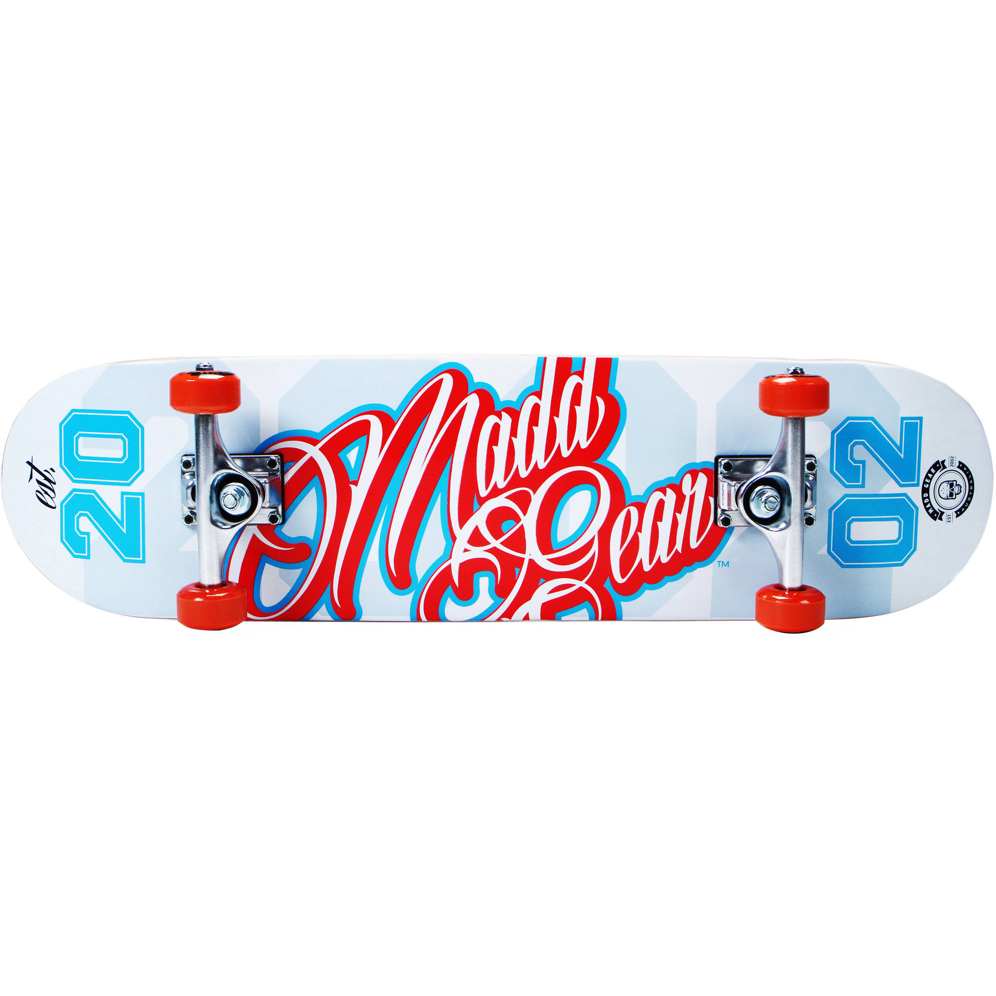 "Madd Gear Pro 31"" Complete Skateboard - Gameplay Red/Blue"