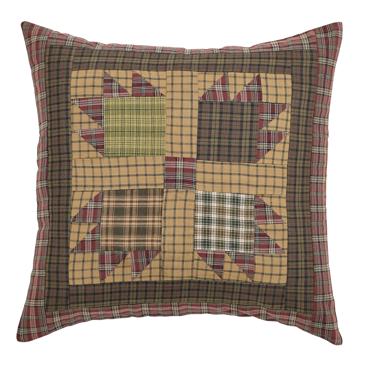 Canavar Ridge Patchwork Pillow Cover 16x16