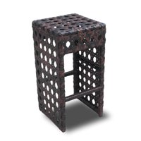 Avon Woven Wicker Outdoor Chair/Bar Stool