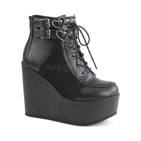 Women's Demonia Poison 105 Ankle Boot](Poison Ivy Boots)