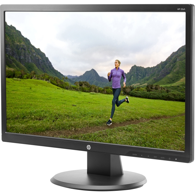 "HP 22uh 21.5"" LED-Backlit Monitor (L3N74AA)"