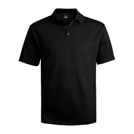 Mesh Polo Coverall (Ed Garments Men's Big And Tall Dry-Mesh Hi-Performance Polo Shirt, BLACK, 2XL )