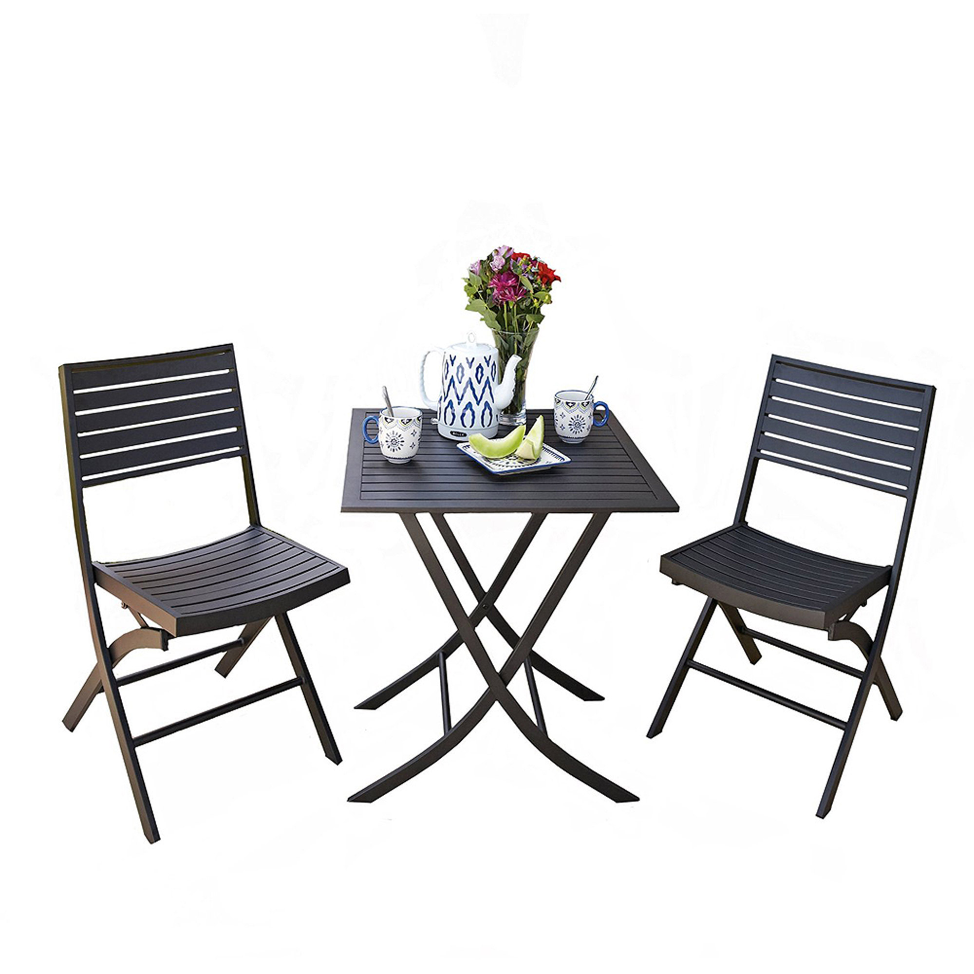 5 Piece Folding Chair And Table Set Target Chairs Amp Seating