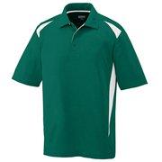 Premier Sport Shirt - WHITE/ MAROON - 4XL 5012
