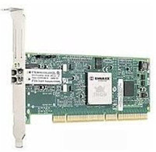 Emulex LP1050-F2 Fiber Channel PCI-X Host Bus Adapter - Wired - (Refurbished)