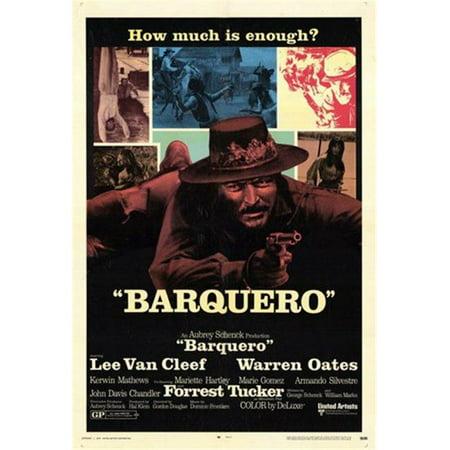 Posterazzi MOV255410 Barquero Movie Poster - 11 x 17 in. - image 1 of 1