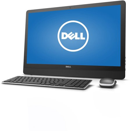 Dell Inspiron 3459 i3459-3275BLK All-in-One Desktop PC with Intel Core i3-6100U Processor, 8GB Memory, 23.8  touch screen, 1TB Hard Drive and Windows 10 Dell Inspiron 3459 i3459-3275BLK All-in-One Desktop PC: Key Features and Benefits: Intel Core i3-6100U processor2.30GHz, 3M Cache8GB DDR3L SDRAM system memoryGives you the power to handle most power-hungry applications and tons of multimedia work1TB SATA hard driveStore 666,000 photos, 285,000 songs or 526 hours of HD video and moreTray-load DVD driveWatch movies and read and write CDs and DVDs in multiple formats10/100/1000Base-T Ethernet, 802.11ac Wireless LANConnect to a broadband modem with wired Ethernet or wirelessly connect to a WiFi signal or hotspot with the 802.11ac connection built into your PC23.8  Full HD Truelife LED-backlit touchscreen with wide viewing angleIntel HD GraphicsAdditional Features:720p webcam with micBluetooth4-in-1 memory card reader2 x USB 3.0 ports, 2 x USB 2.0 ports, 1 x HDMI port, 1 x Ethernet port, 1 x headphone/microphone jack, 1 x aux audio jack16.25 lbs, 22.7  x 15.17  x 1.5 Software: Genuine Microsoft Windows 10 64-bitMicrosoft Office trialMcAfee CB LiveSafe 30-day trialBackup and Restore options built into Windows allow you to create safety copies of your most important personal files, so you're always prepared for the worstSupport and Warranty:1-year limited hardware warrantyProducts that are ENERGY STAR-qualified prevent greenhouse gas emissions by meeting strict energy efficiency guidelines set by the U.S. Environmental Protection Agency and the U.S. Department of Energy. The ENERGY STAR name and marks are registered marks owned by the U.S. government, as part of their energy efficiency and environmental activities.