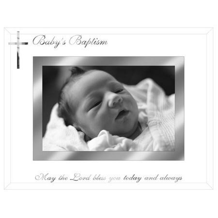 Malden Baby Baptism Picture Frame - Baptism Center Pieces