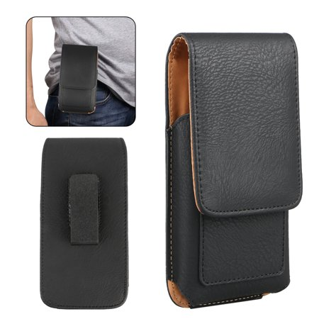 Vertical Carrying Leather Pouch Case Cover With Belt Clip Holster for Cell Phone Cell Phone Battery Belt Clip