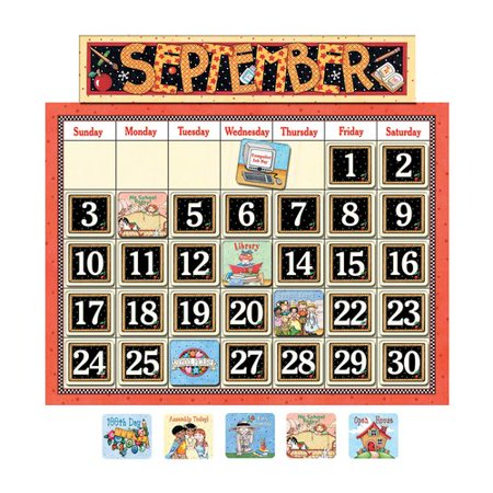 Teacher Created Resources Classroom Bulletin Board Calendar - Classroom Calendar