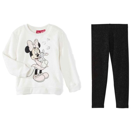 Disney Infant Girls Minnie Mouse & Thumper Bunny Baby Outfit Shirt & Leggings (Thumpers Girl Bunny)