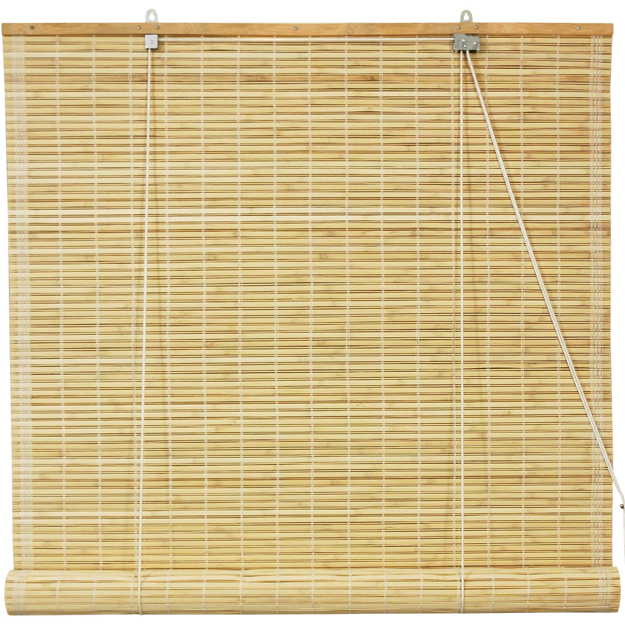 Bamboo Roll Up Blinds, Natural, ...