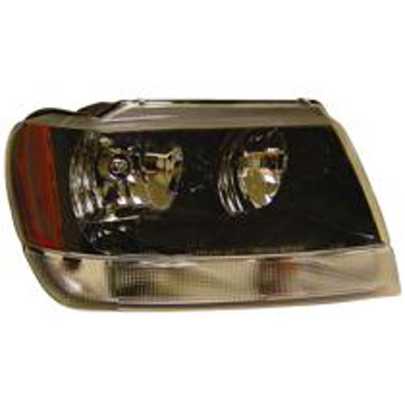 Go-Parts » 1999 - 2004 Jeep Grand Cherokee Headlight Headlamp Assembly Front (Grand Cherokee Laredo/Sport + Fromt 1/14/02) - Right (Passenger) 5103400AA CH2503138 Replacement For Jeep Grand Cherokee 1999 2004 Jeep Grand Cherokee