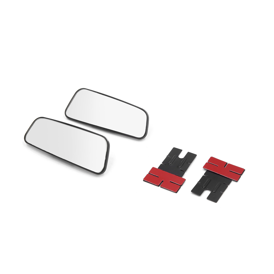 2pcs 360 Degree Wide Angle Rear Side View Auxiliary Blind Spot Mirror for Car - image 3 de 3