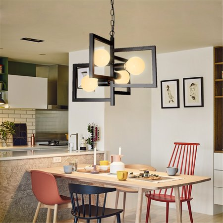 Black Chandelier Light Kitchen Pendant Light Bar Lamp Modern Ceiling Lights ()