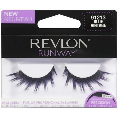 a7101b3284e Revlon Runway Professional Eyelashes, Blue Vintage 91213 - Walmart.com