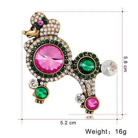 Charming Vintage Pin Brooch Pins Exquisite Collar For Women Dance AL355-A - image 6 de 8
