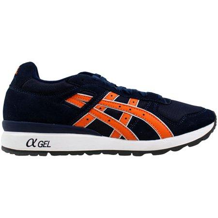 ASICS GT II Retro Running Shoe, Navy/Orange, 10.5 M US