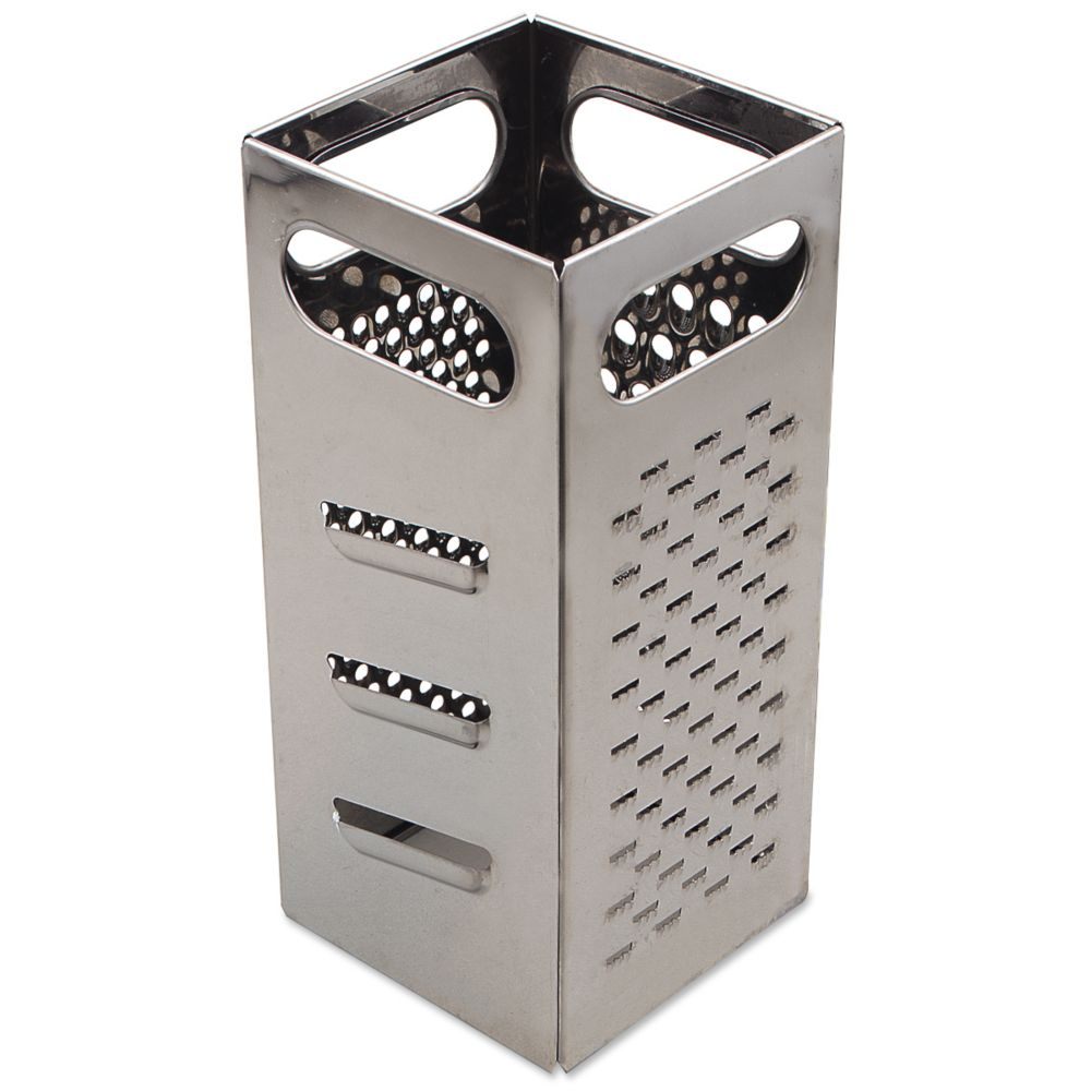 Browne Foodservice SSG449 Stainless Steel Square Cheese Grater by Browne Foodservice