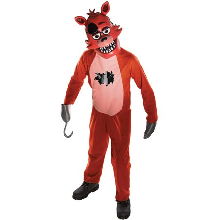 Rubie's Five Nights at Freddy's Medium Foxy Child Halloween Costume - At Home Halloween Costumes