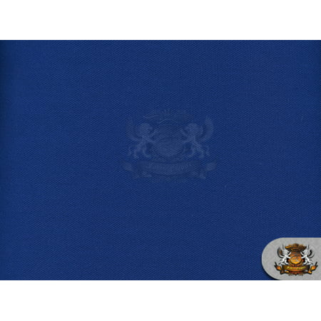 Canvas Duck 10 oz Dyed Solid Fabric ROYAL BLUE / 60