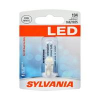 Sylvania 194 White LED Automotive Mini Bulb, Pack of 1.