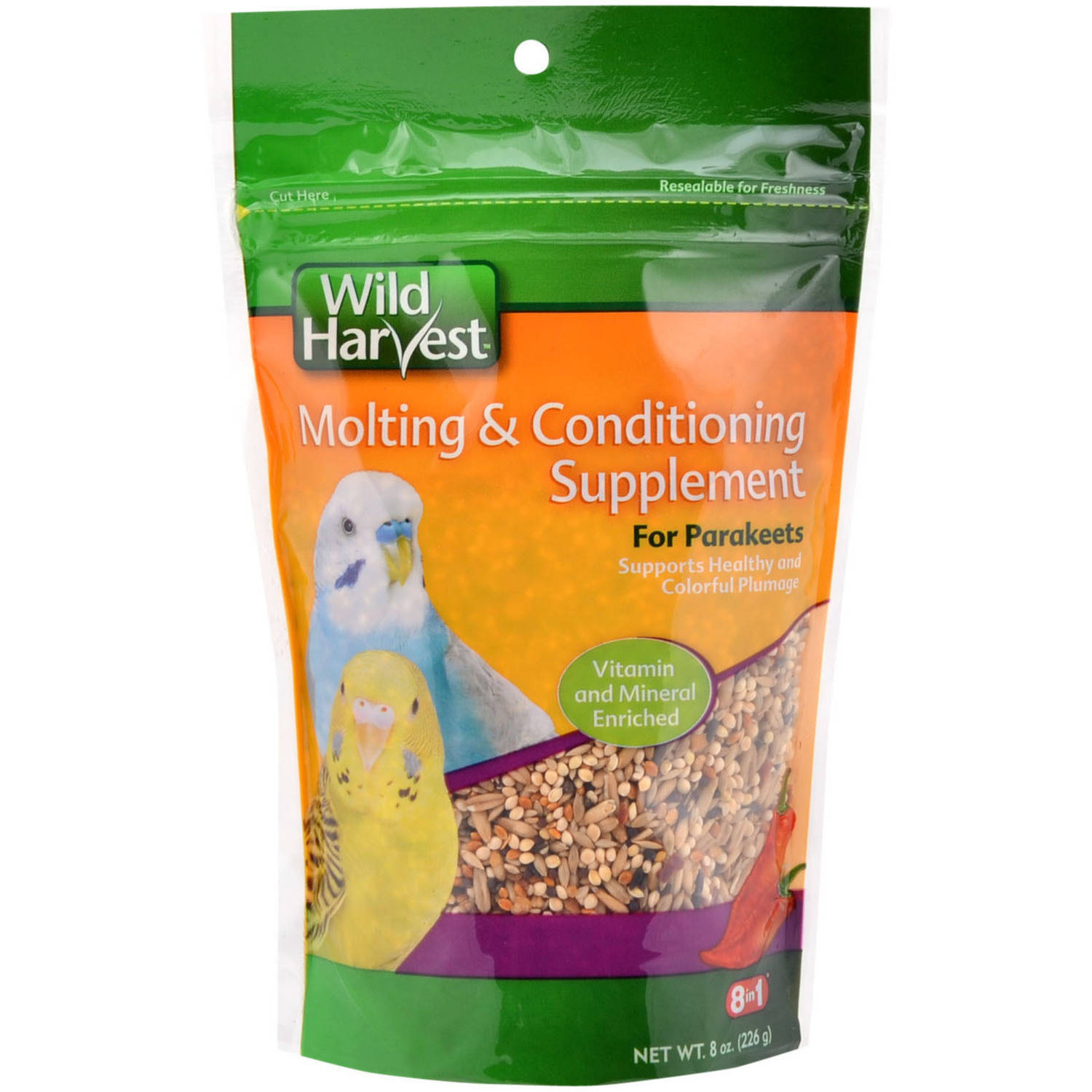 Wild Harvest Molting and Conditioning Supplements for Parakeets