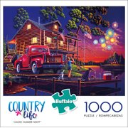 Buffalo Games Country Life - Classic Summer Night 1000 Pieces Jigsaw Puzzle