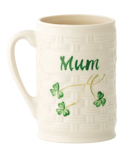 Belleek Personalized Mug Mum, 4.5""