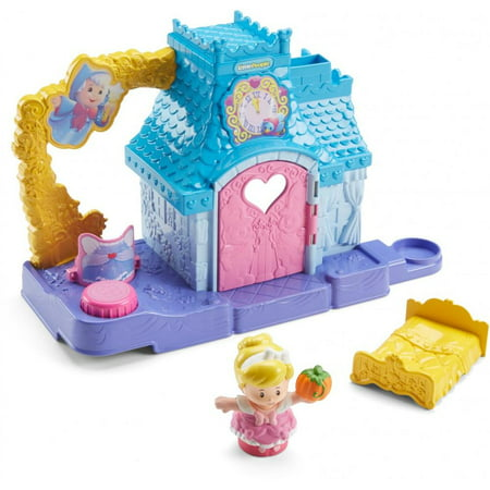 Disney Princess Cinderella's Helpful Friends Home by Fisher-Price Little People (Fisher Price Disney Little People)