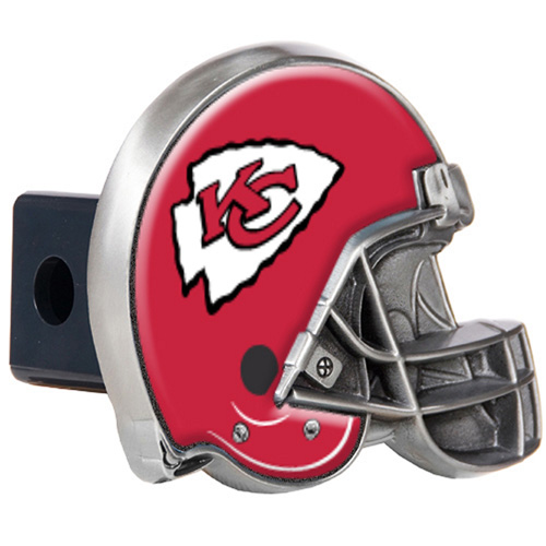 Great American Products Kansas City Chiefs Helmet Trailer Hitch Cover Helmet Trailer Hitch Cover