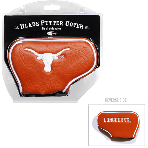 Team Golf NCAA Texas Golf Blade Putter Cover