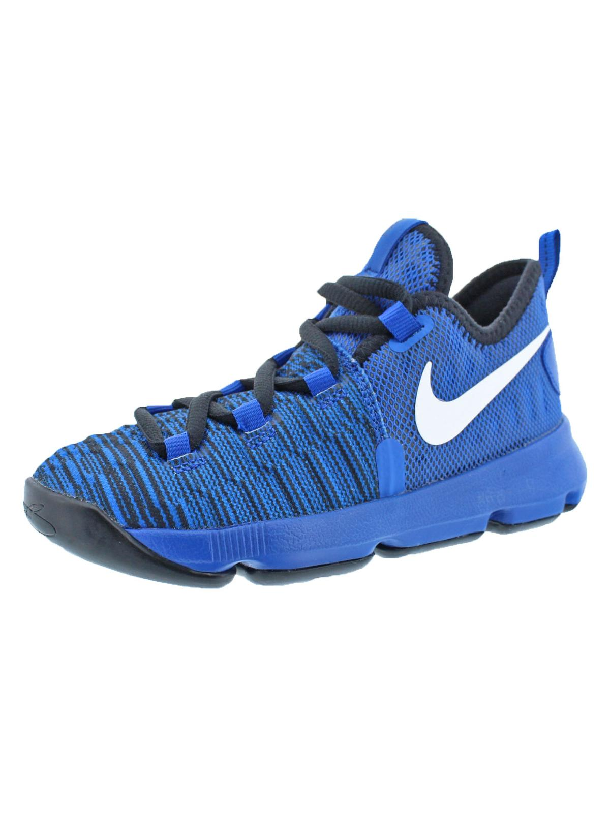 Nike Boys KD9 Colorblock Lace-Up Basketball Shoes