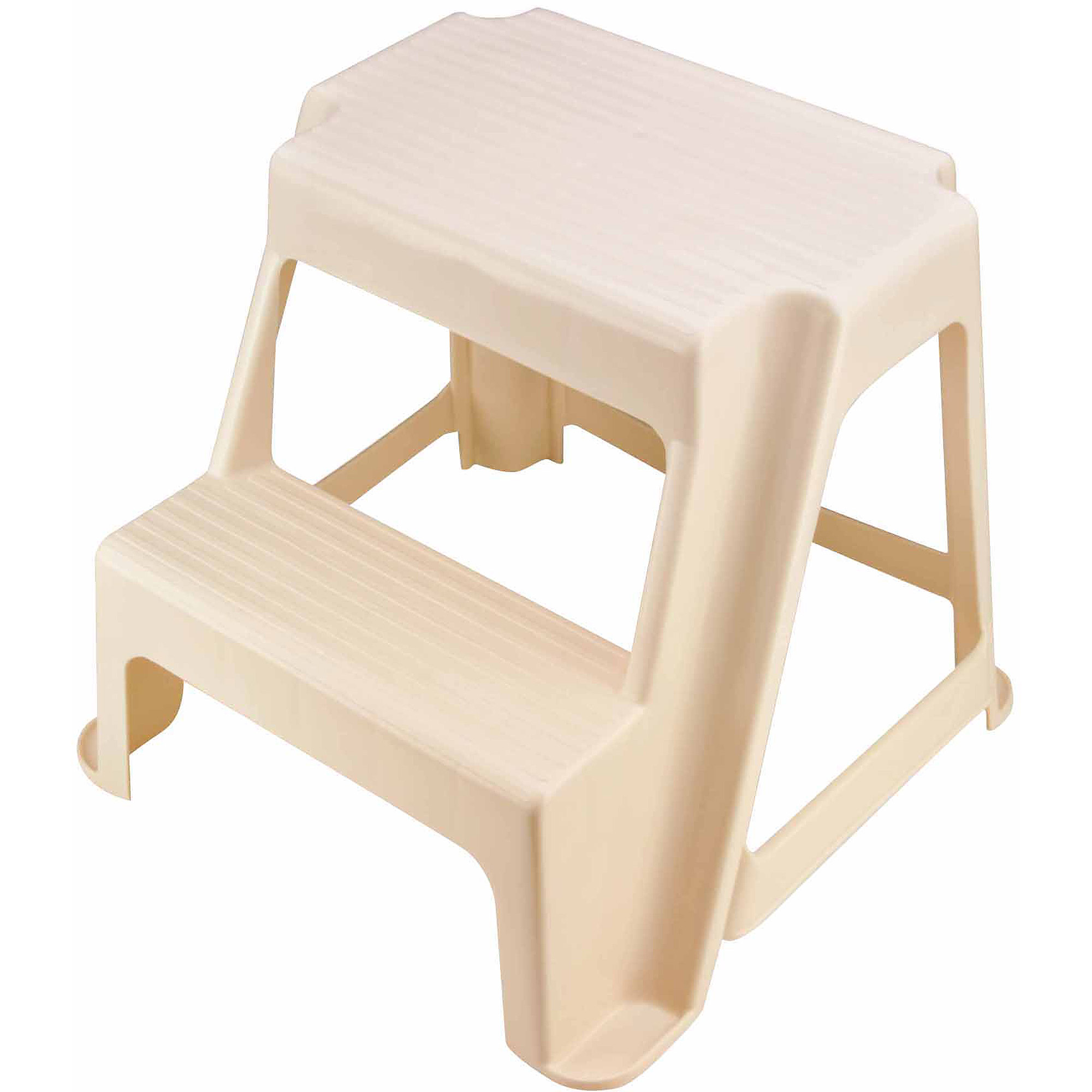 Rubbermaid Two Step Stool Bisque Walmart Com
