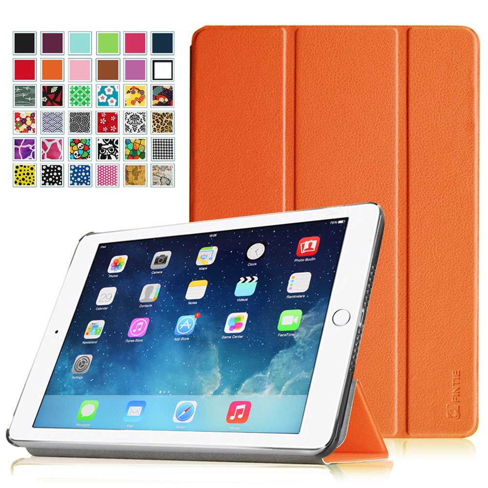 Fintie iPad Air 2 Case - SlimShell Cover with Auto Wake / Sleep for iPad Air 2, Orange