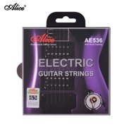 Electric Guitar Strings Hexagonal Core Iron Alloy Winding String Set for 22-24 Frets Electric Guitars