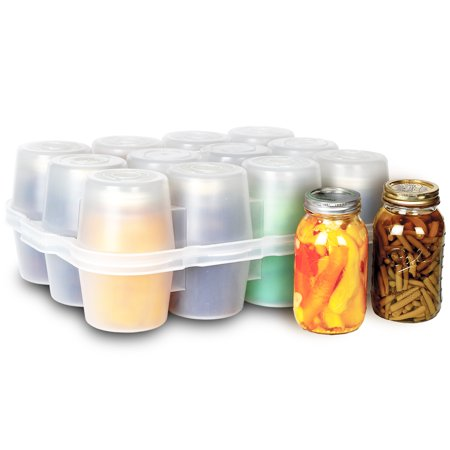 Canning Jar Storage Boxes - Quart Size Quart Jar Box
