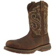"Durango Work Boots Mens 11"" Rebel CT Leather Burnt Umber Brown DB4304"