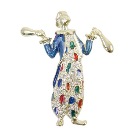 Juggling Clown Lapel Pin (Juggling Pins)