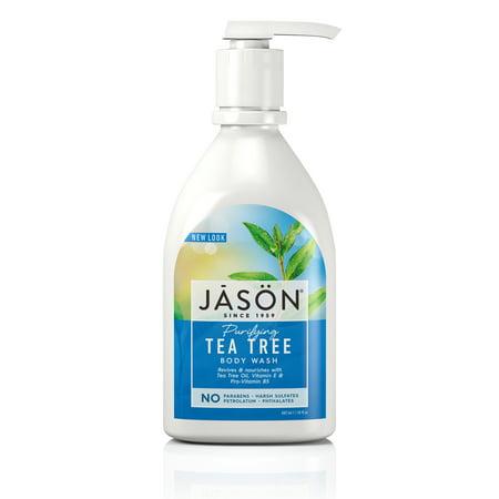 Jason Purifying Tea Tree Body Wash 30 fl oz (Best All Natural Body Wash)