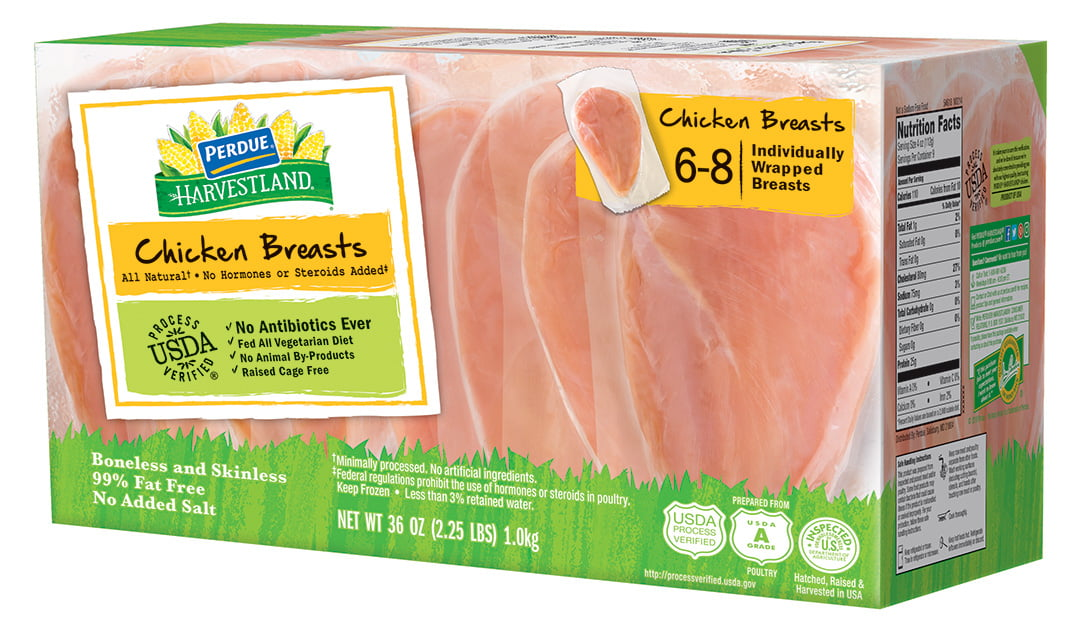 Perdue Harvestland Boneless Skinless Chicken Breasts Individually