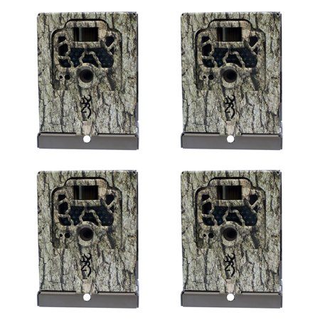 Browning Trail Cameras Locking Security Box for Game Cameras, 4 Pack | (Browning Belted Game Bag)
