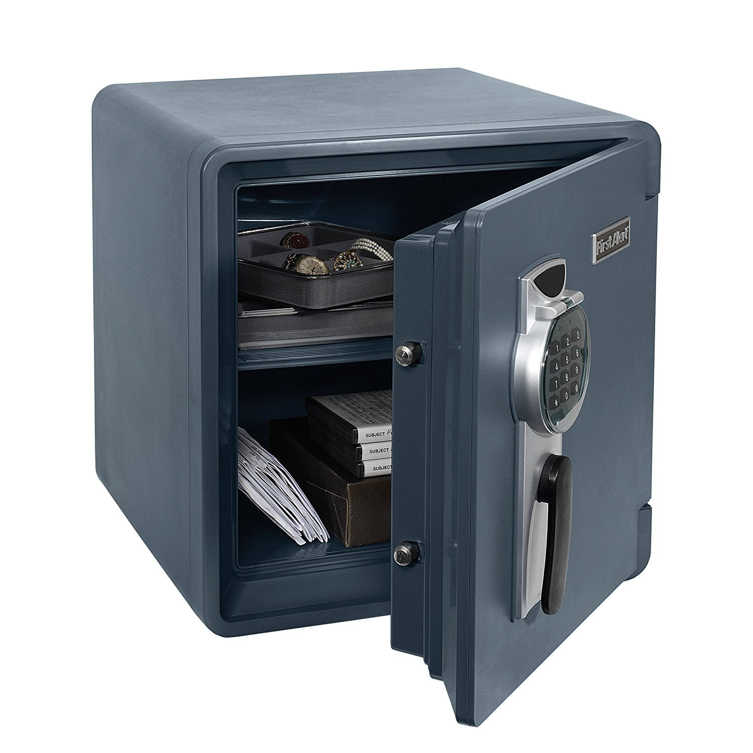 First Alert 2092DF Waterproof and Fire-Resistant Digital Safe, 1.31 Cubic Feet