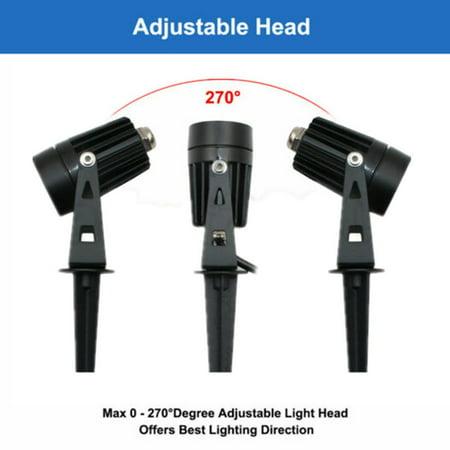 12V LED waterproof Outdoor Garden Spotlights landscape light Lamp - image 9 de 10