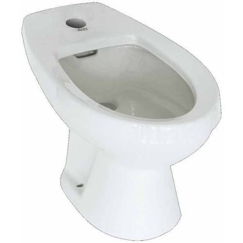 American Standard 5023.111.020 Cadet Single-Hole Bidet for Deck Mounted Fittings, Available in Various Colors ()