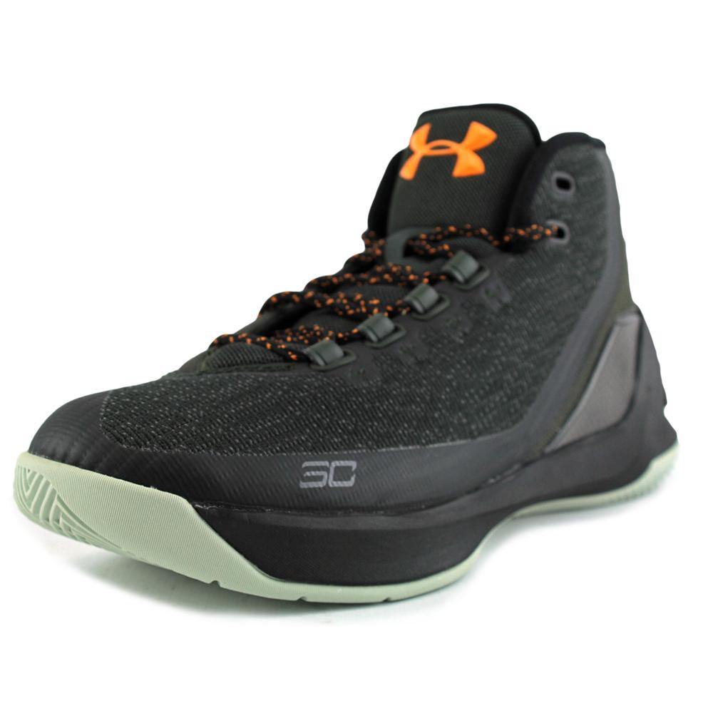Under Armour Curry 3   Round Toe Canvas  Sneakers